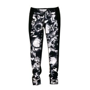 Lucy Black Floral Powerfully Poised Leggings